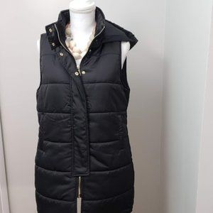 Puffer vest with hood SZ M